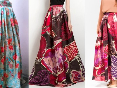 Maxi Skirt DIY | Long Maxi skirt drafting, cutting and stitching step by step tutorial