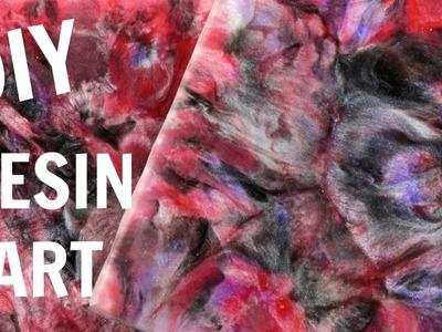 Resin Art | Nebula | Craft Klatch | DIY Project | How To | YouTube Video