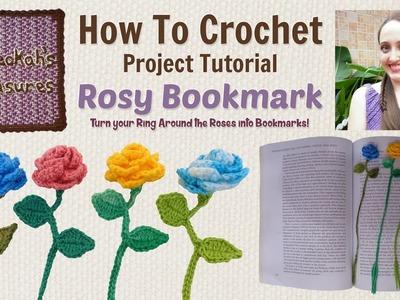 Ring Around the Rosy Bookmark ~ Crochet Tutorial