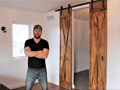 The $60 Double Barn Door - DIY Project