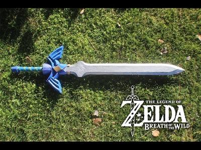 The legend of zelda breath of the wild master sword diy