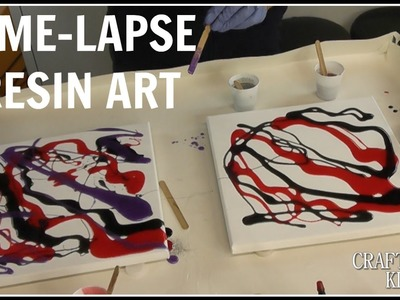 Time Lapse Resin Art | Nebula | Craft Klatch | DIY Project | How To