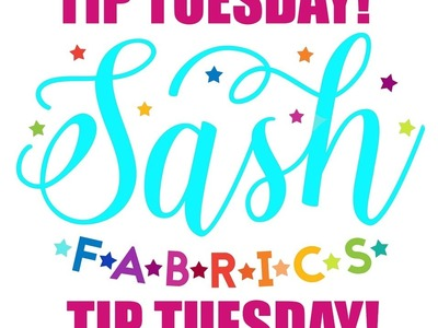 Tip Tuesday - How to Ruler Fold Knit Fabrics - Sash Fabrics