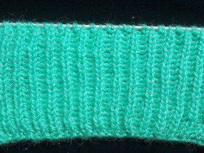 Brioche Stitch | Knitting Pattern | Hindi