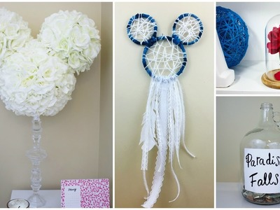 CHEAP & EASY DISNEY DIY CRAFTS #6 | PINTEREST INSPIRED