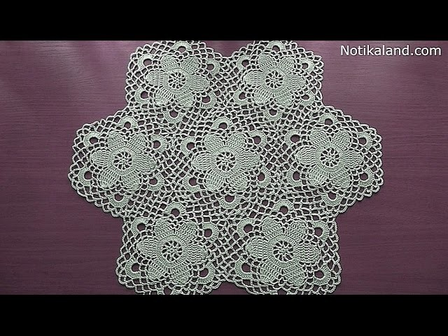 CROCHET Motif Tutorial Part 3 HOW TO JOIN MOTIFS
