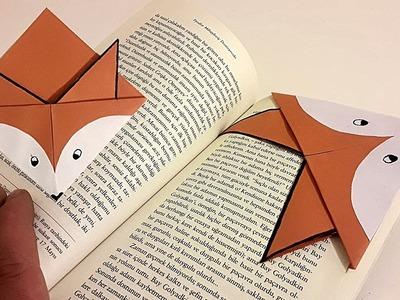 Cute Paper Bookmark - Cute Fox Bookmar Tutorial
