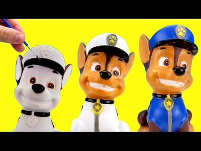 D.I.Y. Chase Coin Bank, Paw Patrol, Fun Crafts, Do It Yourself!