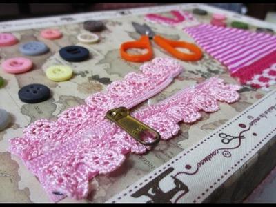 DIY : #171 Sewing Kit Gift Box ❤