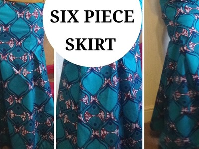 DIY: 6 PIECE SKIRT PATTERN  (EASY) MERMAID SKIRT