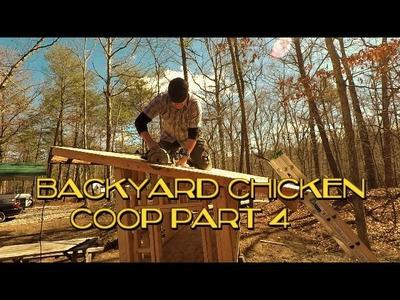 DIY Chicken Coop Build, Part 4