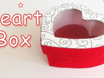 DIY Crafts: Heart Gift Box - Ana | DIY Crafts