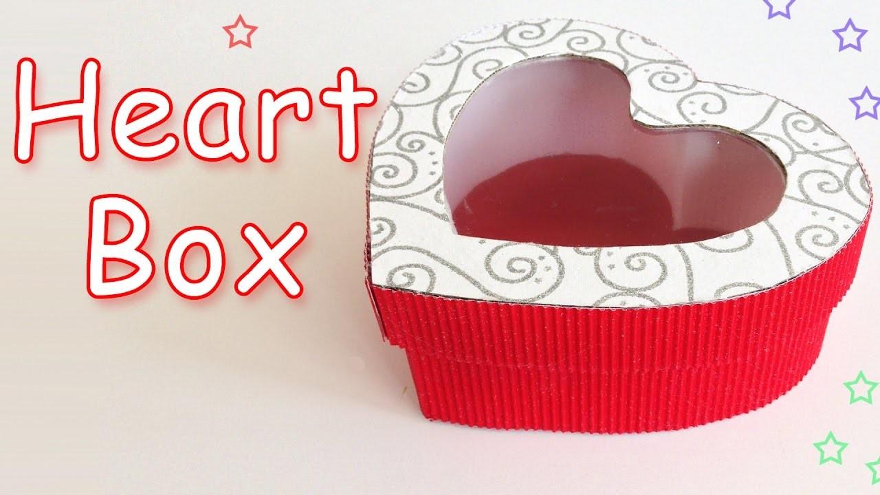 DIY Crafts: Heart Gift Box - Ana | DIY Crafts
