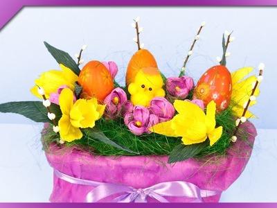 DIY Easter decoration (ENG Subtitles) - Speed up #319