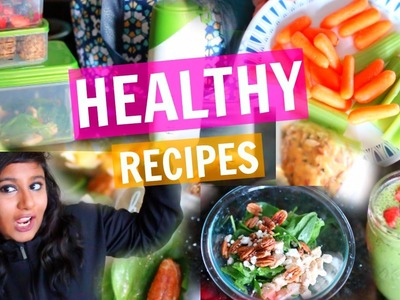 DIY Easy & Healthy Lunch Recipes On The Go! | Weight Loss 2017