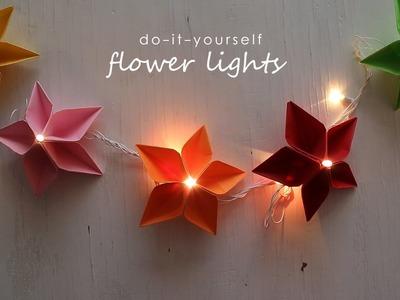 DIY: Flower Lights
