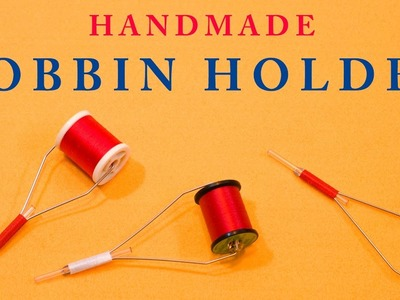 DIY. Fly Tying BOBBIN HOLDER. ボビンホルダーをハンドメイド