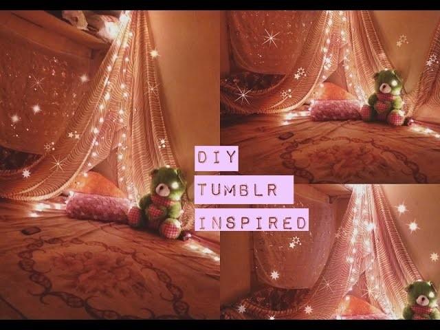 DIY Glitter Bedroom Decor 2017   Tumblr Inspired