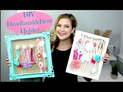 DIY Headband & Bow Holder!!????
