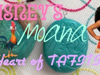 DIY Heart of tafiti necklace   from Moana