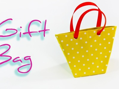 DIY:  How to make a paper Gift Bag ???? Origami Bag