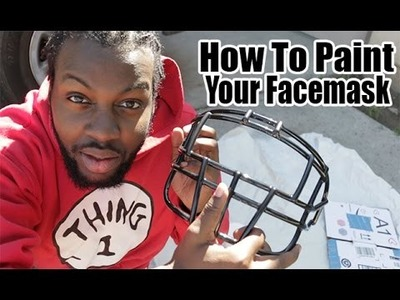 DIY - How To Paint Facemask