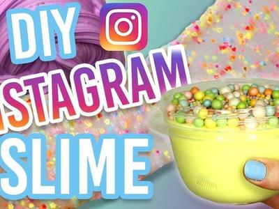 DIY INSTAGRAM SLIME TESTED! Banana Split Slime, Trix Cereal Slime, and Rainbow Glitter Slime ASMR