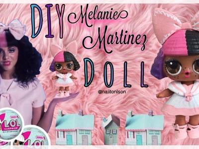 DIY Melanie Martinez Dollhouse LOL Surprise Custom Doll