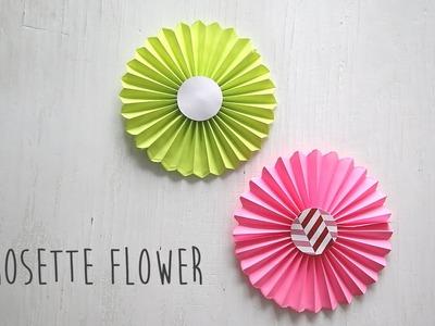 DIY: Rosette Flower