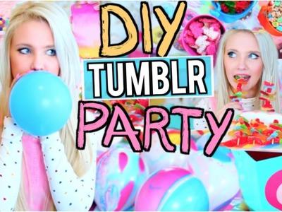 DIY Tumblr Birthday Party! Easy Gifts + Treats!