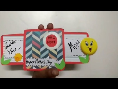 Double Slider Card For Mother's Day | How To | CraftLas