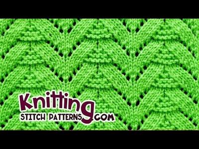 Fir Tree | Lace Knitting #27