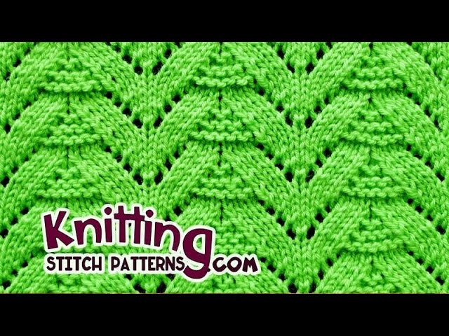 Fir Tree | Lace Knitting #27
