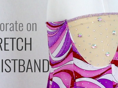 How to Decorate on Stretch Waistband - Belly Dance Skirt DIY