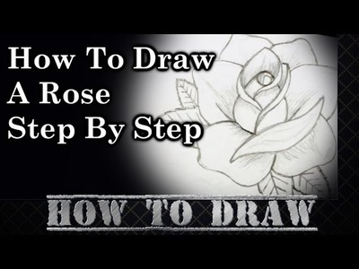 How To Draw A Rose Step By Step #2