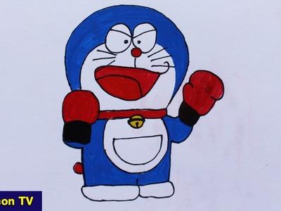 How to draw Doraemon Is Fighter | Sunkemon TV