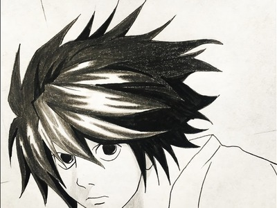 How to draw L (Death Note)