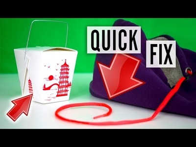 How to fix a drawstring - bag, pants, hoodie string