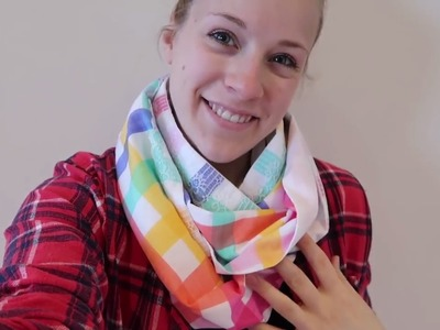 How To Make a Infinity Scarf Tutorial