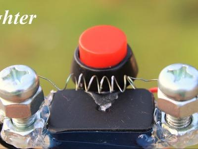 How to Make a Lighter - 9 Volt Lighter