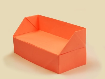 How to make a paper Sofa?