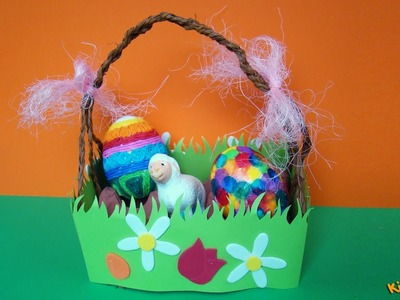 How to make an Easter Basket? DIY