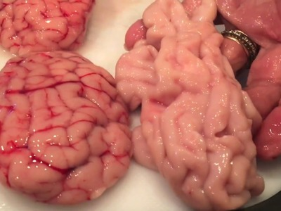 How to make beef brains, Moroccan style