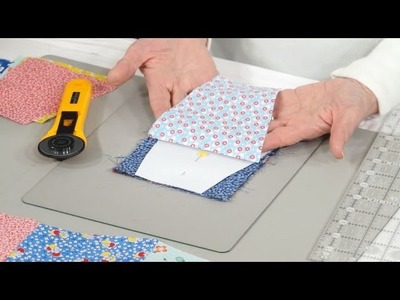 How to make great use of the Tumbler Charm patchwork shape with Valerie Nesbitt