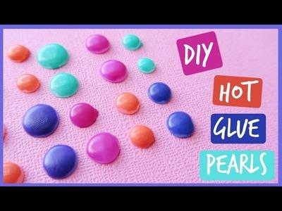 How to make Hot Glue Dots | DIY Enamel Dots | Hot Glue Hacks | Ali Coultas