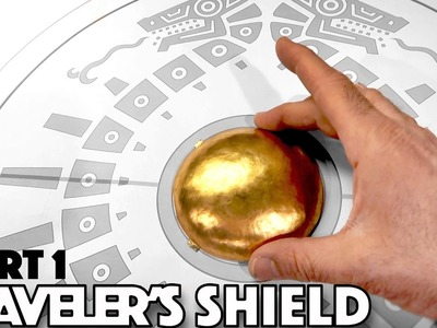 How to make Link's Traveler's Shield PT 1 - Breath of the Wild Zelda Brass Boss