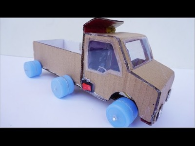 How to Make Powered Truck DIY - An Electric Car Easy Homemade
