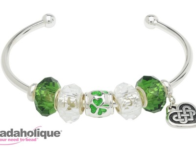 How to Make the Lucky Shamrock Bangle