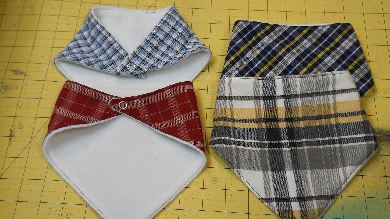 How To Sew A Bandana Bib