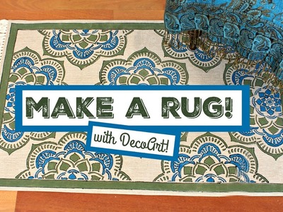 HOW TO: Stenciled Rug